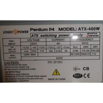 Блок питания Logic power Pentium P4 ATX-400W