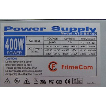 Блок питания Power supply ATX-SM400