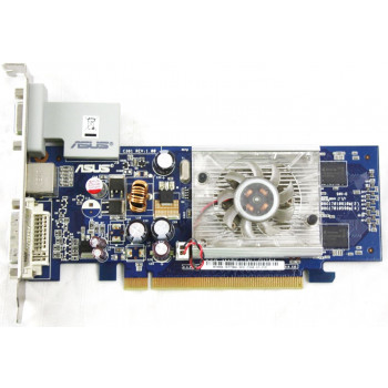 Видеокарта Asus GeForce EN7300GS 256Mb 64bit GDDR3 HP (C381 REV:1.00)