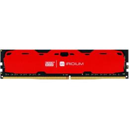 Модуль памяти для компьютера DDR4 8GB 2400 MHz Iridium Red GOODRAM (IR-R2400D464L15S/8G)