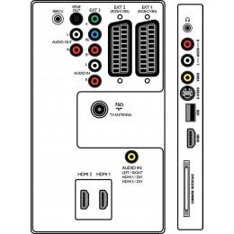 "Телевизор 40"" Grundig VLE 525 BG (FHD) - Class A"