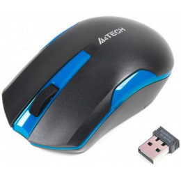 Мышка A4tech G3-200N Black+Blue