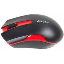 Мышка A4tech G3-200N Black+Red