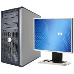 """Комплект Компьютер Dell Optiplex 755 MT (E8400/4/250) + Монитор 19"""" HP LP1965"""