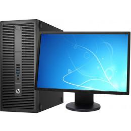 "Комплект Компьютер HP EliteDesk 800 G1 Tower (i5-4570/8/500/GTX1050Ti) + Монитор 22"" Samsung 2243BW"