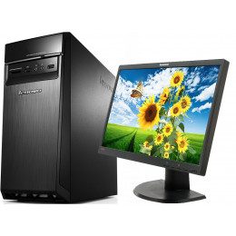 "Комплект Компьютер Lenovo H50-50 CTO (i3-4160/4/1000) + Монитор 22"" Lenovo ThinkVision L2251PWD"