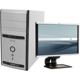 "Комплект Компьютер Hyrican Tower (x3 B75/8/500/Radeon 7450) + Монитор 22"" Samsung 2243BW"