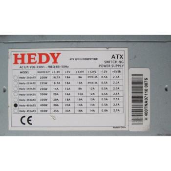 Блок питания HEDY-400 ATX 400W
